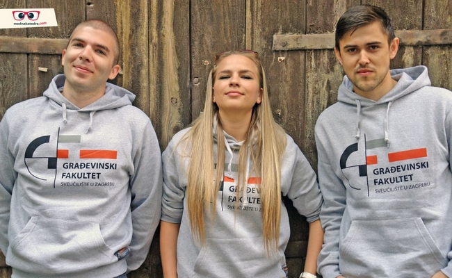 GRADhoodie (dukserice) od sada i na Graevinskom fakultetu