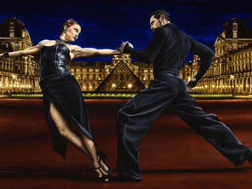 Last Tango in Paris Computer Monitor Screen Wallpaper Tango Dance Image