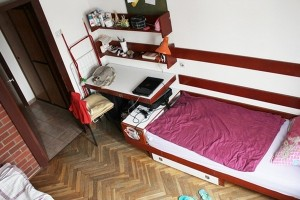 Soba u Studentskom domu Stjepan Radić