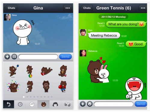line-screenshots