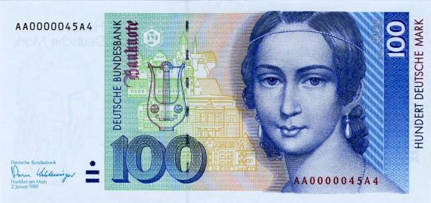 banknote-100-deutsche-mark-schumann-1989