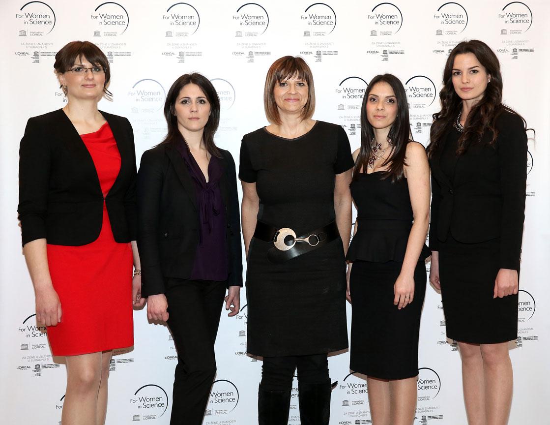 Iva Srut Rakic, Ana Sepac, Brigitte Streller, Anita Horvatic, Dajana Milovac_web