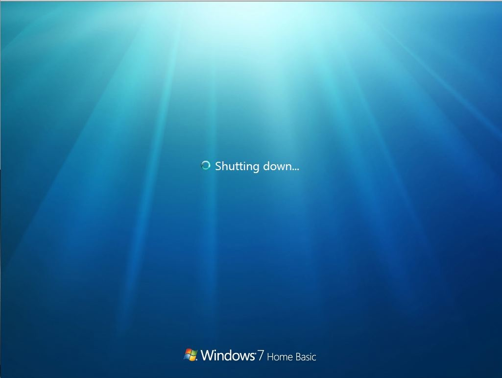 Shutdown-windows7