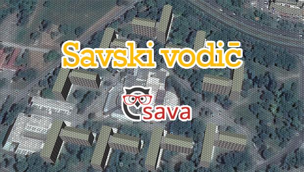 Interaktivni Savski Vodic Studentski Dom Stjepan Radic