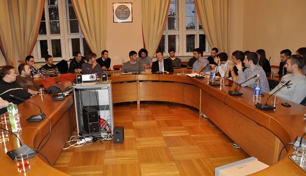 Skupština Studentskog zbora i rektor Damir Boras