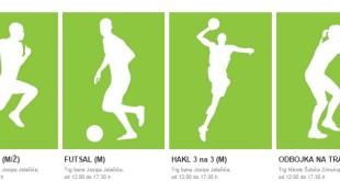 Satnica i lokacije - Natjecateljski sportovi